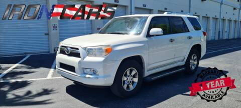 2012 Toyota 4Runner for sale at IRON CARS in Hollywood FL