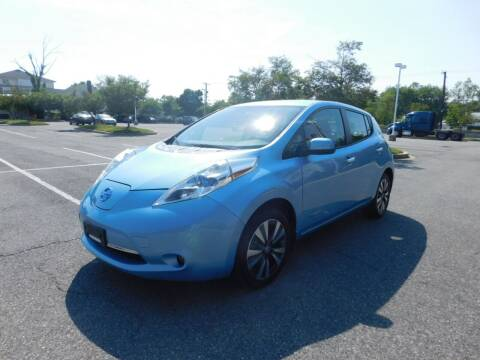 2015 Nissan LEAF for sale at AMERICAR INC in Laurel MD