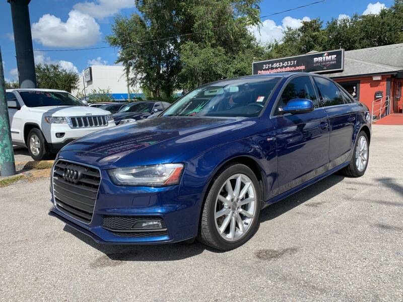 2015 Audi A4 for sale at Prime Auto Solutions in Orlando FL