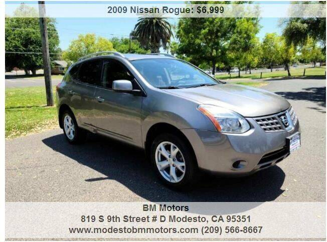 2009 Nissan Rogue for sale in Modesto, CA
