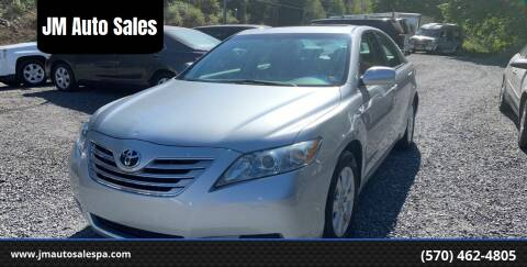2007 Toyota Camry Hybrid for sale at JM Auto Sales in Shenandoah PA