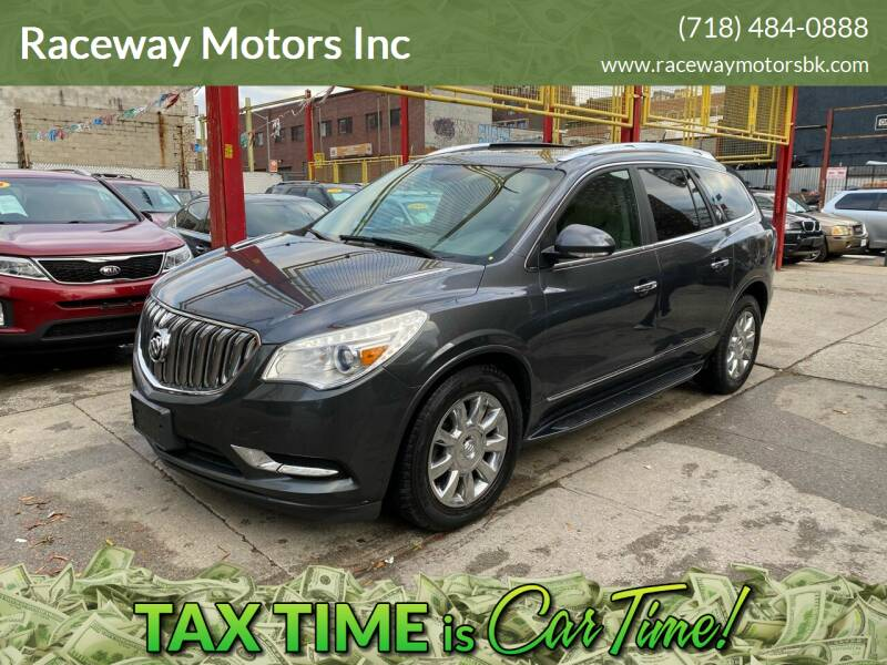 2013 Buick Enclave for sale at Raceway Motors Inc in Brooklyn NY