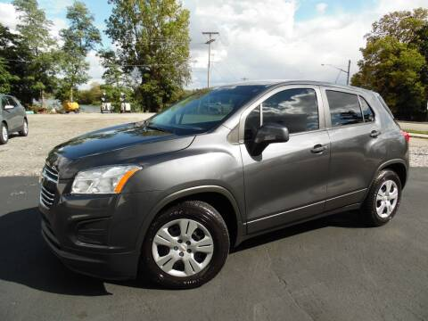 2016 Chevrolet Trax for sale at Leo Auto Sales in Leo IN