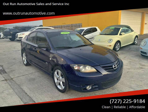 2005 Mazda MAZDA3 for sale at Out Run Automotive Sales and Service Inc in Tampa FL