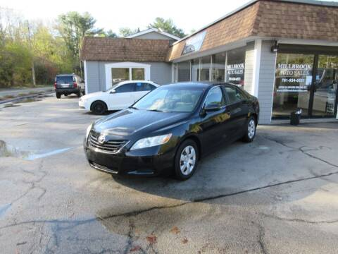 2008 Toyota Camry for sale at Millbrook Auto Sales in Duxbury MA