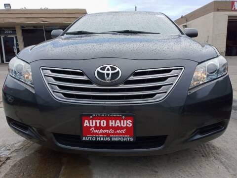 2009 Toyota Camry Hybrid for sale at Auto Haus Imports in Grand Prairie TX