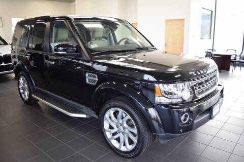 2016 Land Rover LR4 for sale at BMW OF NEWPORT in Middletown RI