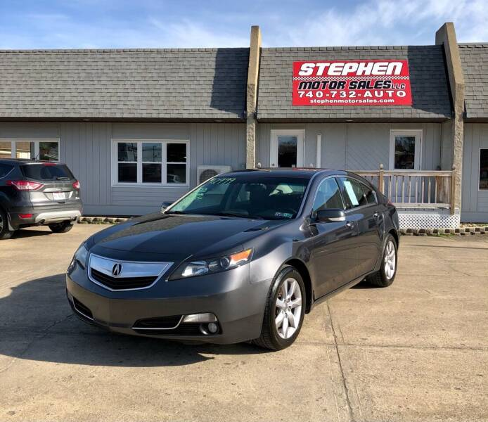 2013 Acura TL for sale at Stephen Motor Sales LLC in Caldwell OH
