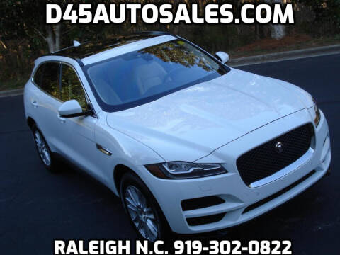 2018 Jaguar F-PACE for sale at D45 Auto Brokers in Raleigh NC
