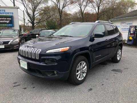 2015 Jeep Cherokee for sale at Sports & Imports in Pasadena MD