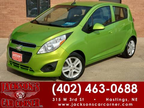 2014 Chevrolet Spark for sale at Jacksons Car Corner Inc in Hastings NE