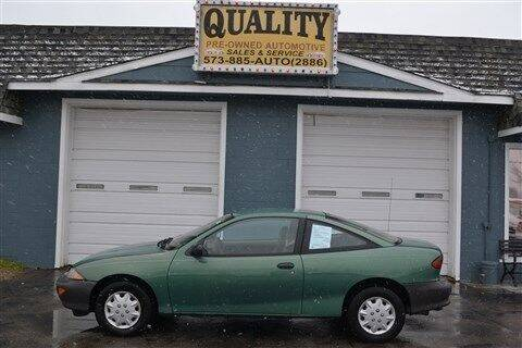 1999 Chevrolet Cavalier for sale at Quality Pre-Owned Automotive in Cuba MO