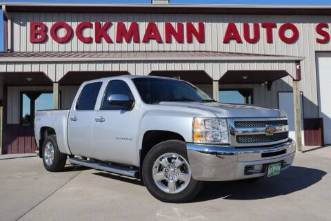 2012 Chevrolet Silverado 1500 for sale at Bockmann Auto Sales in St. Paul NE