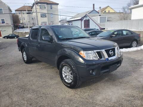 2014 Nissan Frontier for sale at Fortier's Auto Sales & Svc in Fall River MA