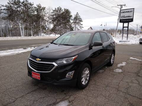 2018 Chevrolet Equinox for sale at KATAHDIN MOTORS INC /  Chevrolet Sales & Service in Millinocket ME