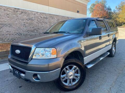 2006 Ford F-150 for sale at Gwinnett Luxury Motors in Buford GA
