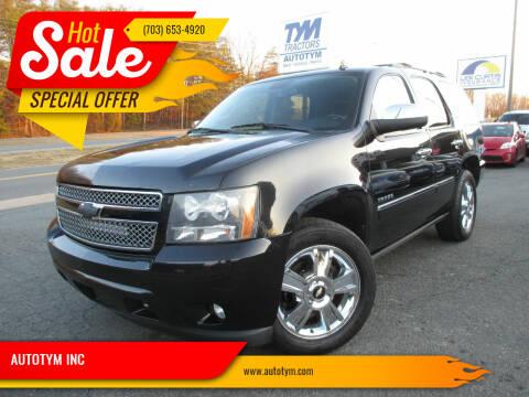 2010 Chevrolet Tahoe for sale at AUTOTYM INC in Fredericksburg VA