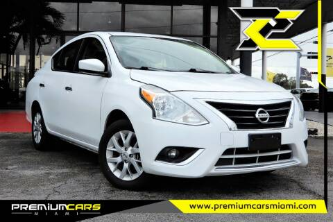 2018 Nissan Versa for sale at Premium Cars of Miami in Miami FL
