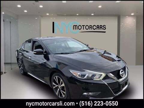 2018 Nissan Maxima for sale at NYC Motorcars in Freeport NY