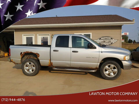 2004 Dodge Ram Pickup 1500 for sale at Lawton Motor Company in Lawton IA