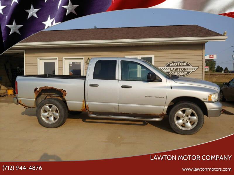 2004 Dodge Ram Pickup 1500 for sale at Lawton Motor Company in Lawton IA