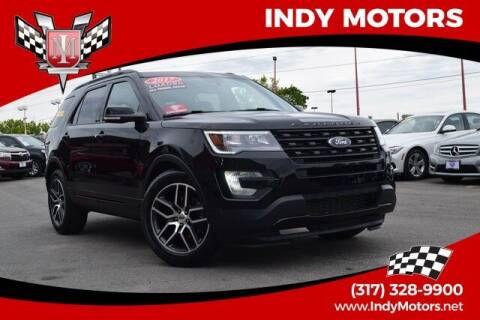 2017 Ford Explorer for sale at Indy Motors Inc in Indianapolis IN