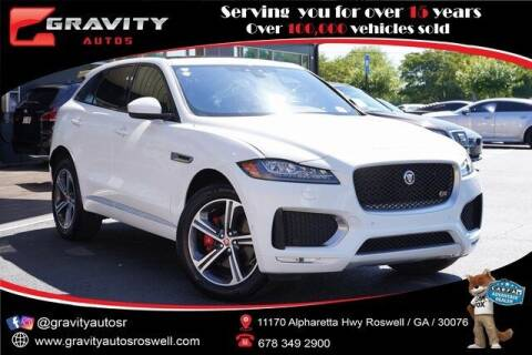 2020 Jaguar F-PACE for sale at Gravity Autos Roswell in Roswell GA