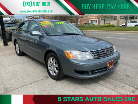 2004 Toyota Avalon for sale at 6 STARS AUTO SALES INC in Chicago IL