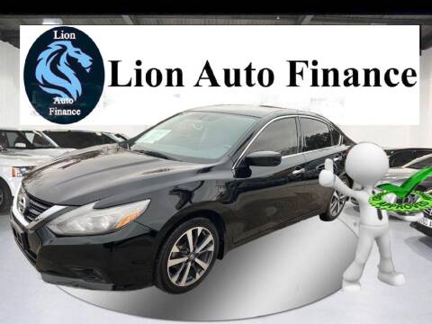 2016 Nissan Altima for sale at Lion Auto Finance in Houston TX