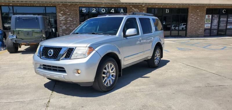 2011 Nissan Pathfinder for sale at WHOLESALE AUTO GROUP in Mobile AL