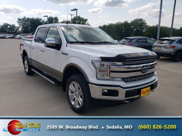 2019 Ford F-150 for sale at RICK BALL FORD in Sedalia MO