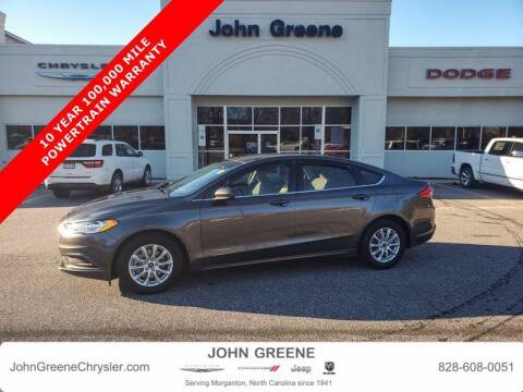2018 Ford Fusion for sale at John Greene Chrysler Dodge Jeep Ram in Morganton NC