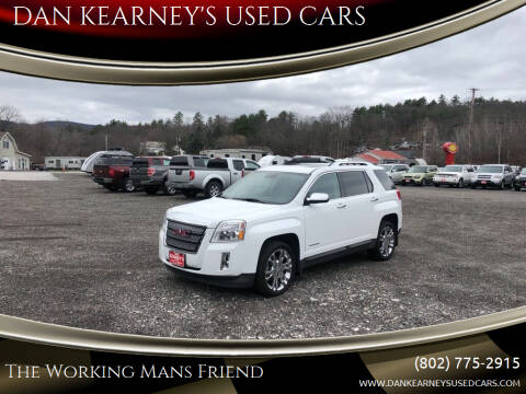 2013 GMC Terrain for sale at DAN KEARNEY'S USED CARS in Center Rutland VT