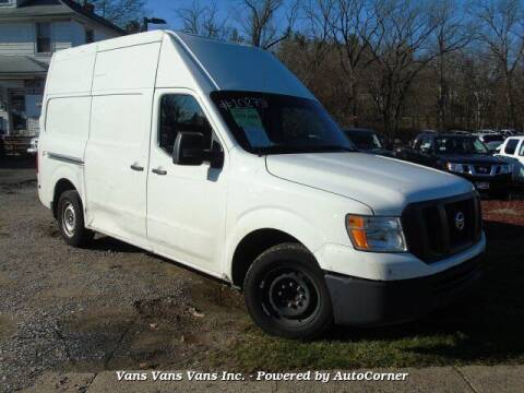 2017 Nissan NV Cargo for sale at Vans Vans Vans INC in Blauvelt NY
