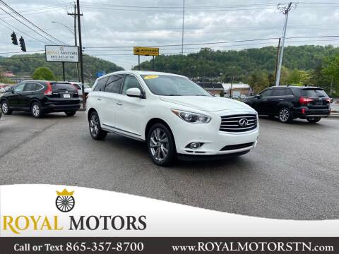2013 Infiniti JX35 for sale at ROYAL MOTORS LLC in Knoxville TN