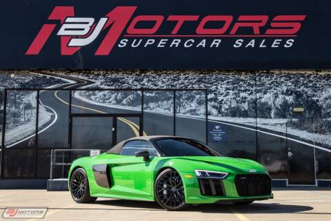2018 Audi R8 for sale at BJ Motors in Tomball TX
