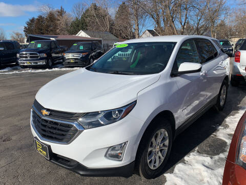 2018 Chevrolet Equinox for sale at PAPERLAND MOTORS in Green Bay WI