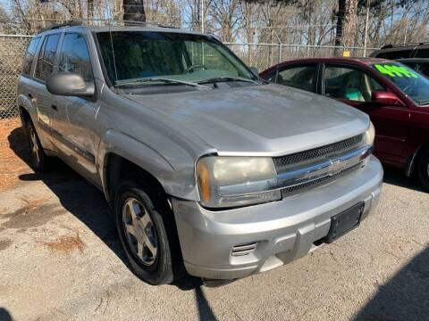 2004 Chevrolet TrailBlazer for sale at Super Wheels-N-Deals in Memphis TN