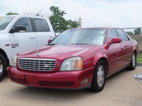 2002 Cadillac DeVille for sale at Ron Carter  Clear Lake Used Cars in Houston TX
