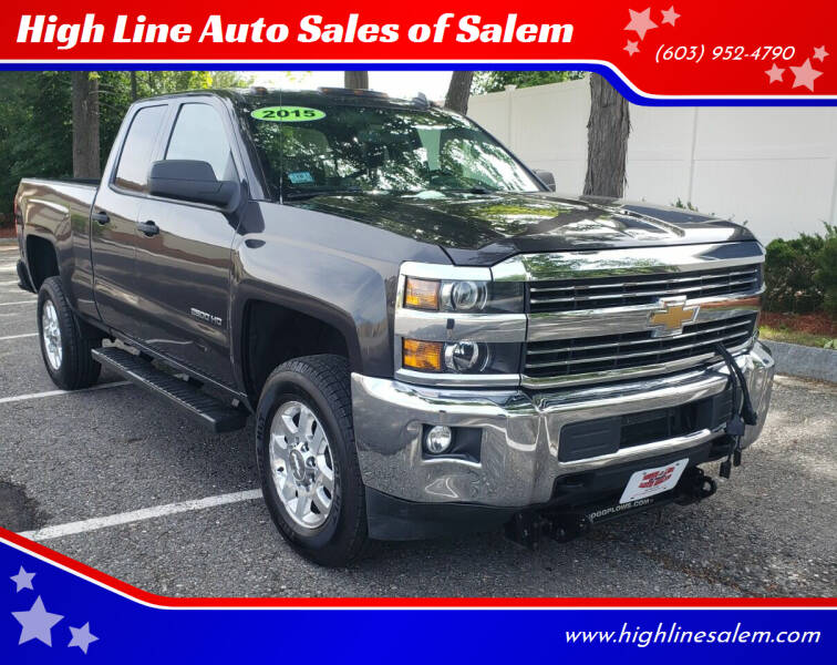 2015 Chevrolet Silverado 2500HD for sale at High Line Auto Sales of Salem in Salem NH