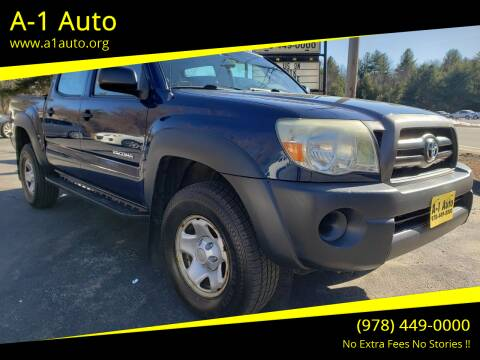 2008 Toyota Tacoma for sale at A-1 Auto in Pepperell MA