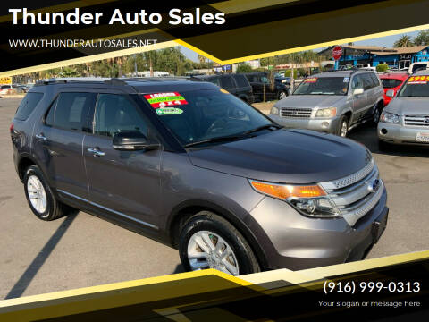 2013 Ford Explorer for sale at Thunder Auto Sales in Sacramento CA