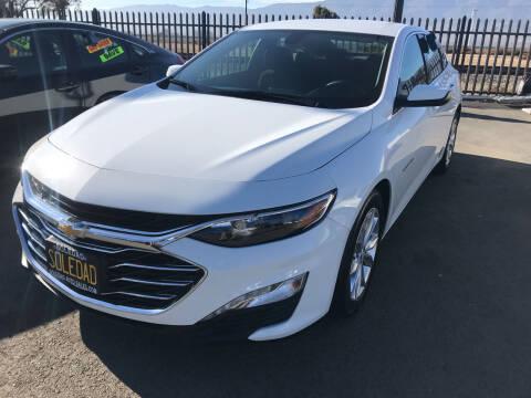 2020 Chevrolet Malibu for sale at Soledad Auto Sales in Soledad CA