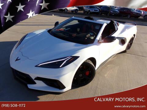 2020 Chevrolet Corvette for sale at Calvary Motors, Inc. in Bixby OK