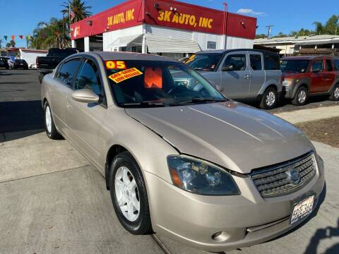 2005 Nissan Altima for sale at 3K Auto in Escondido CA