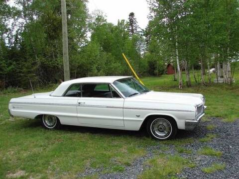 1964 Chevrolet Impala for sale at Classic Car Deals in Cadillac MI