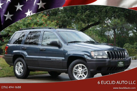 2003 Jeep Grand Cherokee for sale at 6 Euclid Auto LLC in Bristol VA