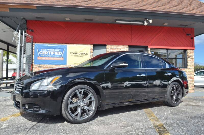 2014 Nissan Maxima for sale at ALWAYSSOLD123 INC in North Miami Beach FL