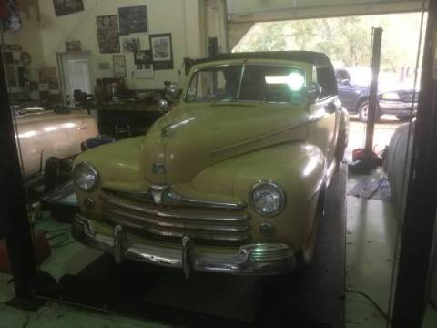 1947 Ford Super Deluxe for sale at Classic Car Deals in Cadillac MI