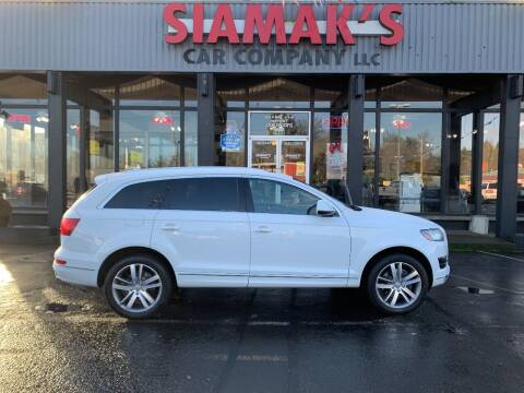 2013 Audi Q7 for sale at Siamak's Car Company llc in Salem OR